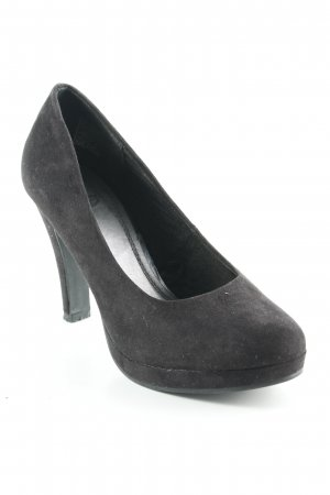 Only Pink High Heels schwarz Business-Look