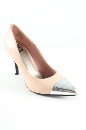Only Pink Spitz-Pumps mehrfarbig Business-Look