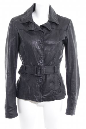 only play Bikerjacke schwarz Biker-Look