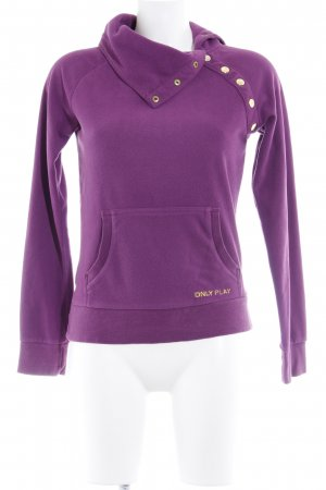 only play Fleecepullover violett Casual-Look