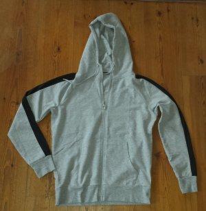 Only Play Kapuzensweatshirt Hoodie Sweatjacke grau Gr. L wie neu! 1 x getragen