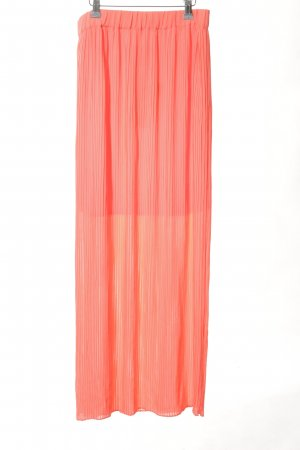 Only Pleated Skirt pink casual look