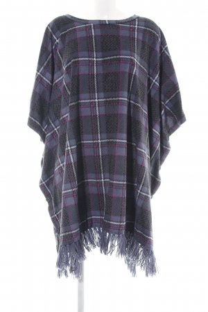 Only Poncho stampa integrale stile casual