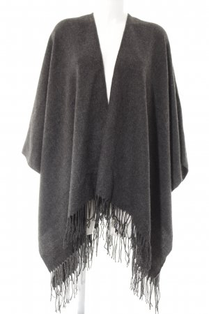 Only Poncho dunkelgrau Casual-Look