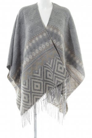 Only Poncho allover print casual look