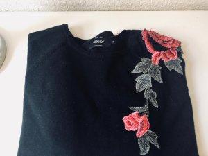 Only Pullover floral Blumen Blumenmuster