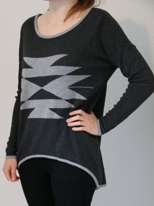 ONLY Pullover, Gr. S, grau