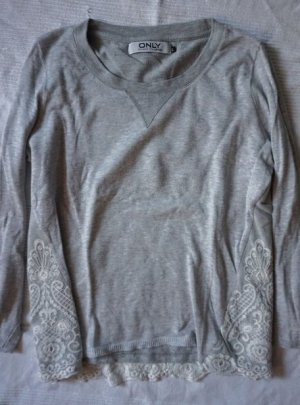 ONLY Pullover Hippie Boho Stickerei
