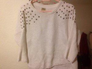 Only Pullover mit Nieten