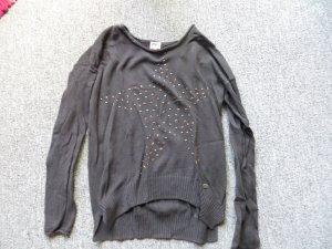Only Pullover mit Nieten-Sternen Gr. XS