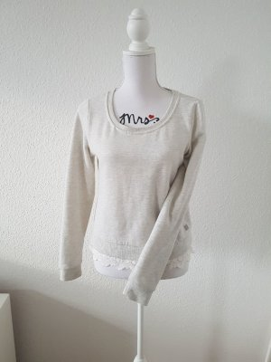 Only Pullover mit Spitze