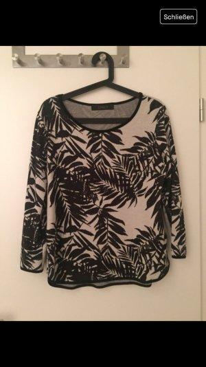 only Pullover Palmen schwarz M