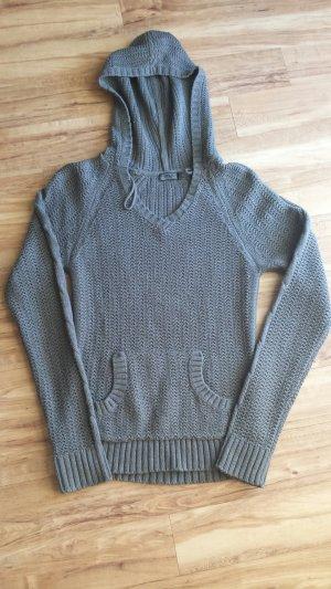 Only Pullover Strickpulli grau