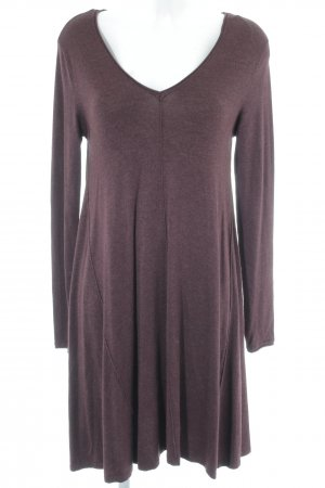 Only Sweater Dress bordeaux casual look