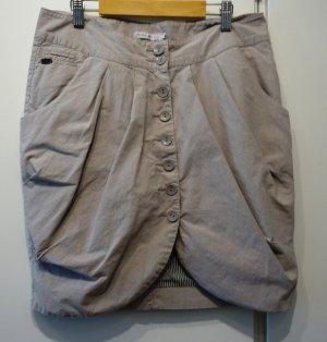 Only Rock Tulpenrock Gr. M (38) grau Lagenlook Street Wear