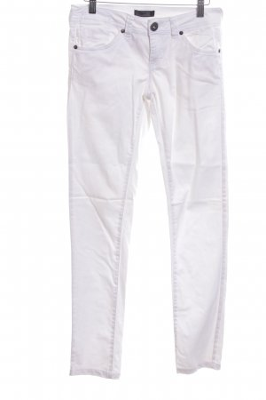 Only Pantalone a sigaretta bianco stile casual