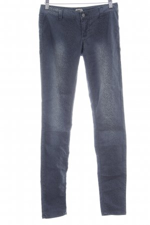 Only Drainpipe Trousers slate-gray animal pattern animal print