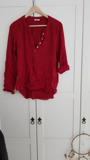 Only - rote Bluse; Gr. 36