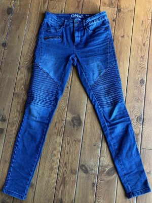 Only Royal Reg Biker Skinny Fit Jeans