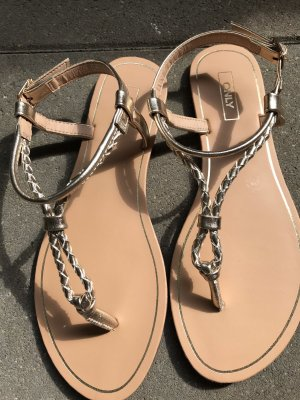 Only Sandalo toe-post oro
