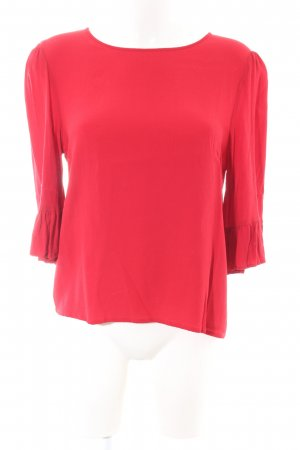 Only Schlupf-Bluse rot Business-Look