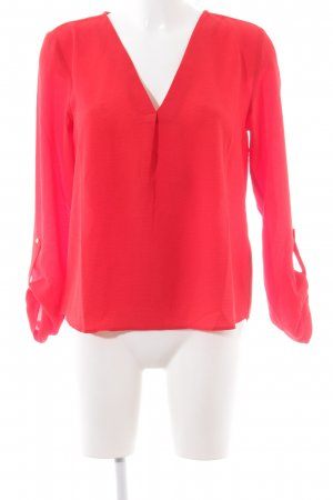 Only Schlupf-Bluse rot Casual-Look