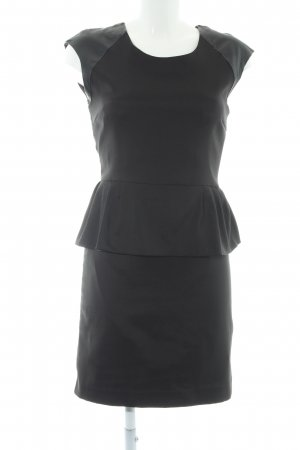 Only Peplum Dress black party style
