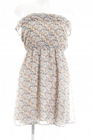 Only Off the shoulder jurk bloemen patroon casual uitstraling
