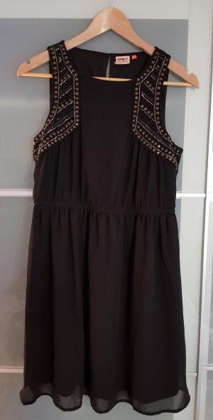 ONLY schwarzes Kleid in Größe S