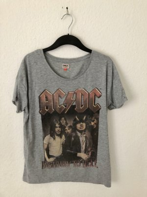 Only Shirt mit ACDC Print