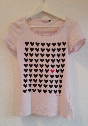 ☆ Only Shirt mit Herzen ☆