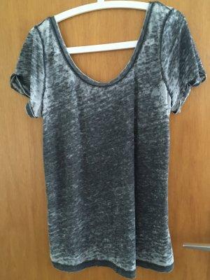 Only Shirt mit tiefem Front-und Rückenausschnitt