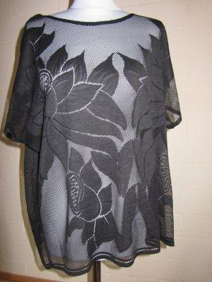 ONLY: Shirt oversized, Einheitsgröße, schwarz, neu