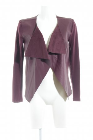 Only Shirt Jacket bordeaux simple style