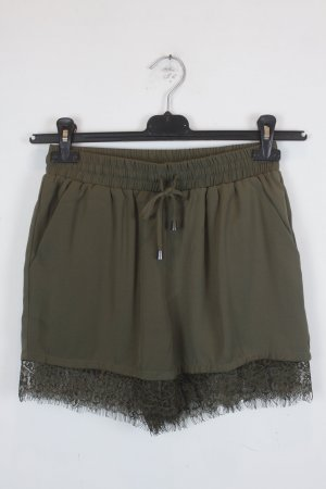 Only Shorts Gr. 34 dunkelgrün mit Spitze (18/3/320)