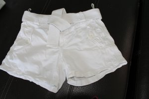 Only Short moulant blanc coton