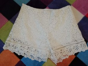 Only Shorts Spitze Lace Highwaist Hippie M Hotpants