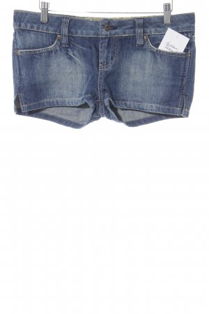 Only Shorts stahlblau Casual-Look