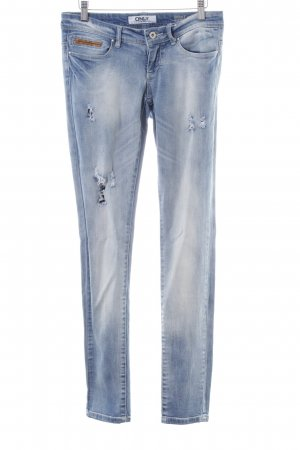 Only Skinny Jeans blau-braun Casual-Look