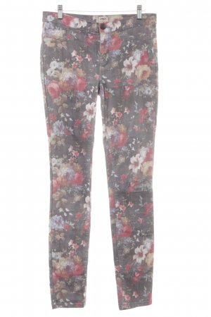 Only Skinny Jeans Blumenmuster Casual-Look