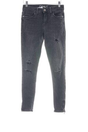 Only Skinny Jeans neonblau Jeans-Optik