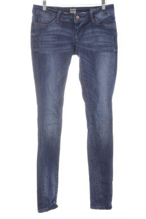 Only Skinny Jeans dunkelblau-blassblau Casual-Look