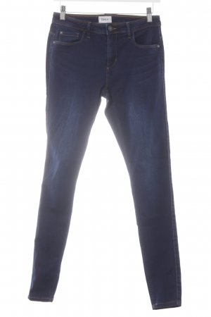 Only Skinny Jeans dark blue casual look