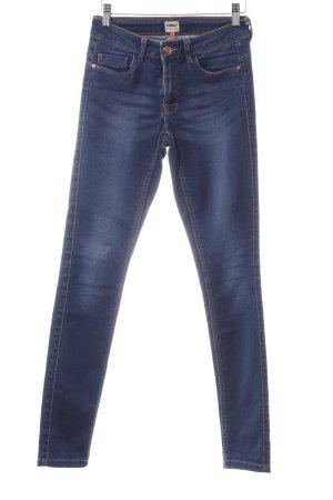 Only Skinny Jeans dunkelblau Metallknöpfe