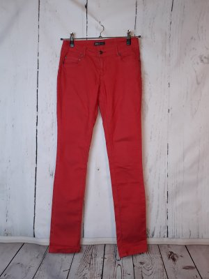 ONLY Skinny-Jeans - Gr. M / L34 - rot