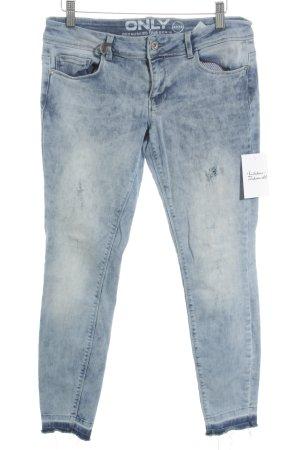 Only Skinny Jeans graublau-blassblau Jeans-Optik