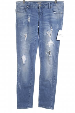 Only Skinny Jeans graublau Street-Fashion-Look