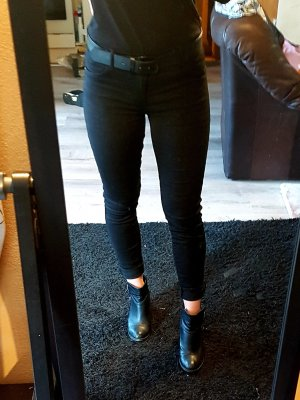 Only Jeans skinny noir viscose