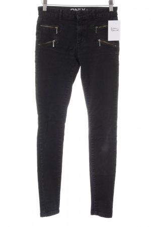 Only Skinny Jeans black casual look