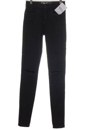 Only Skinny Jeans schwarz Urban-Look